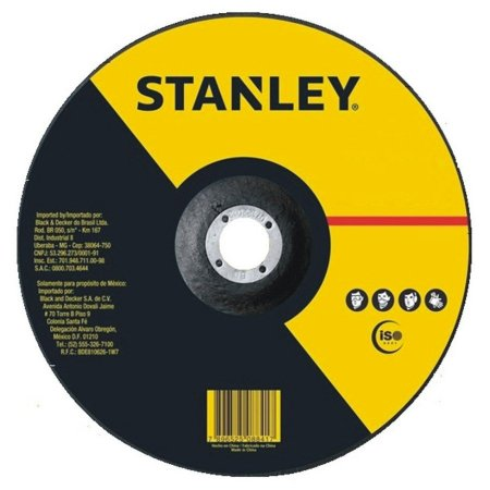 DISCO CORTE FINO 4.1/2X1/25X7/8 STANLEY