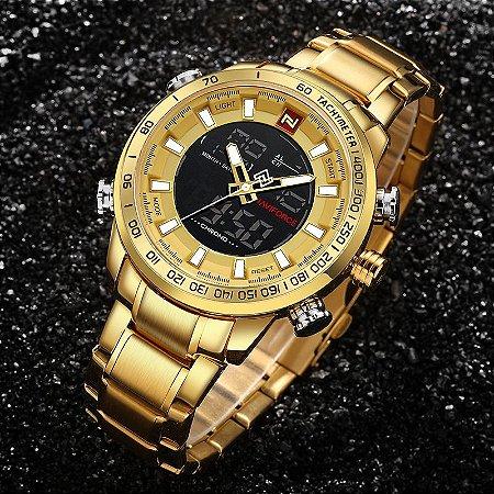 Relógio de Luxo - Naviforce NF9093M