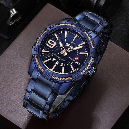 Relógio de Luxo Esportivo - Naviforce NF9117