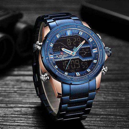 Relógio Esportivo - Naviforce 9138S