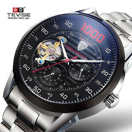 Relógio de Luxo Automático - TEVISE 8378