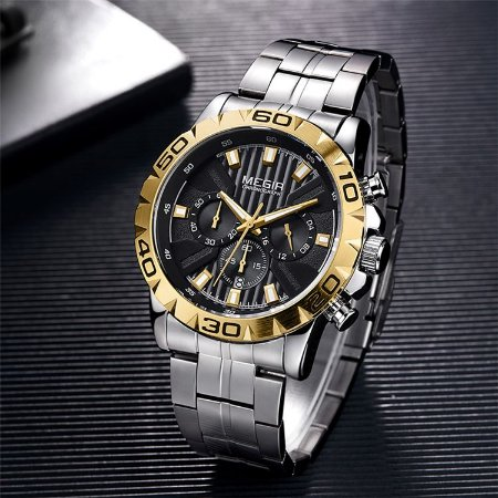 Relógio de Luxo - MEGIR M2087 (100% Funcional)
