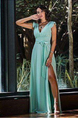 Vestidos Rita Verde Menta