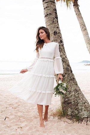 Vestido Agatha Off White