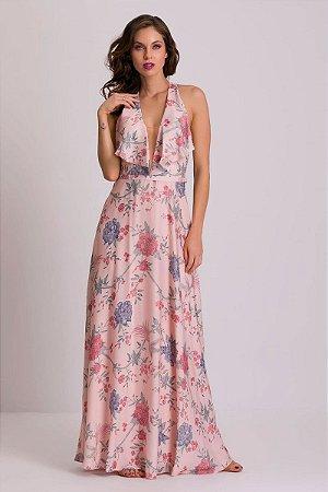 Vestido Louise Rosa