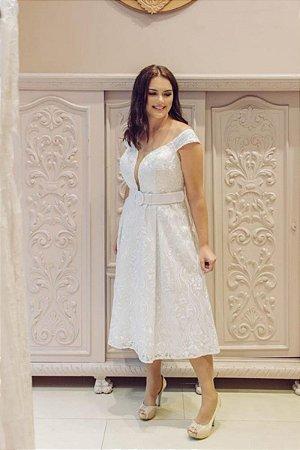 Vestido Kesia Branco