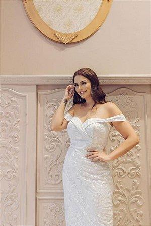 Vestido Jasmin Branco