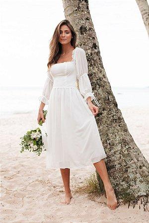 Vestido Vitoria Off White