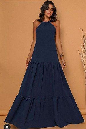 Vestido Pamela Azul Marinho