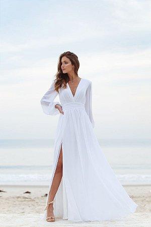 Vestido Fabiola Off White