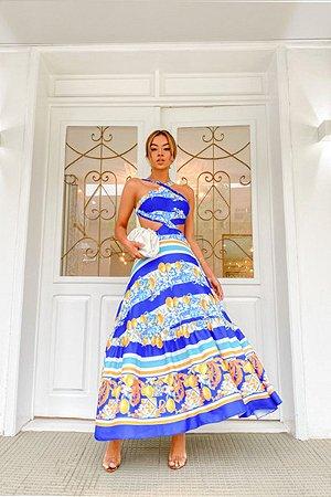 Vestido Midi Amalfitano