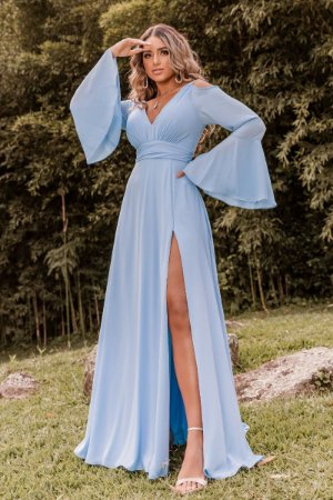 Vestido Bianca Azul Serenity