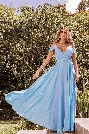 Vestido Rihana Azul Serenity