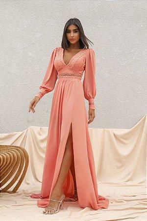 Vestido Mirela Coral
