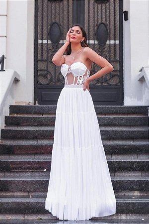 Vestido Amanda Off White