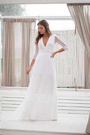Vestido Antonella Off White