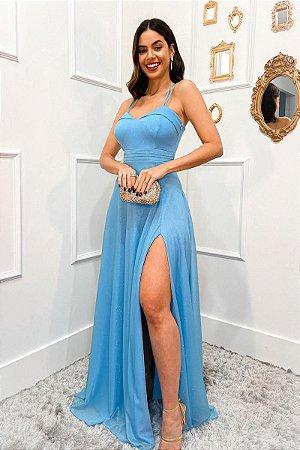 Vestido Florenza Azul Serenity