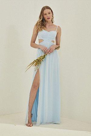 Vestido Filipa Azul Serenity