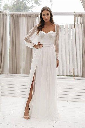 Vestido Anbel Off White