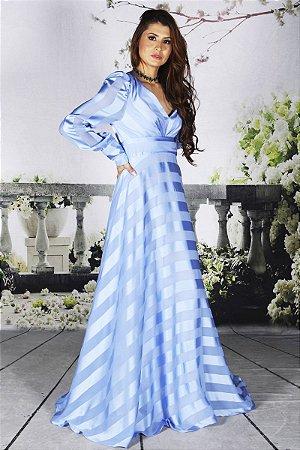 Vestido Renata Azul Serenity