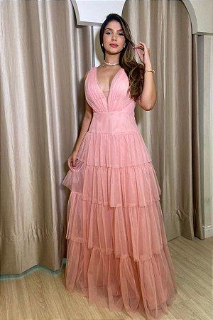 Vestido Iasmin Rosa