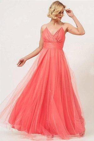Vestido Zoe Coral