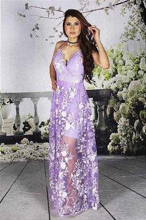 Vestido Valentina Lilas