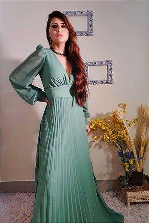 Vestido Lily Verde Menta