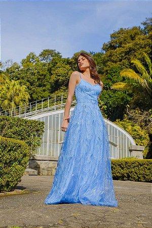 Vestido Adriana Azul Serenity