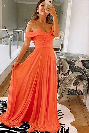 Vestido Malory Coral