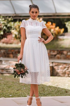 Vestido Celine Off White