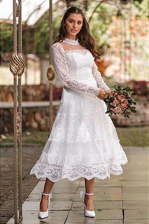 Vestido Desirée Off White
