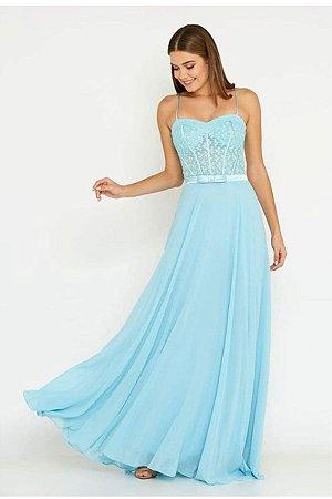 Vestido Júlia Azul Serenity