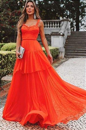 Vestido Layla Coral