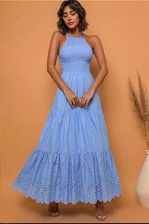 Vestido Lyra Azul Serenity