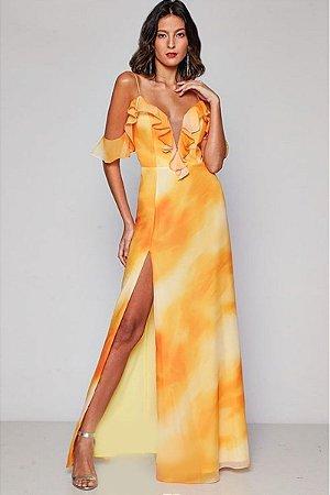 Vestido Ivy Amarelo