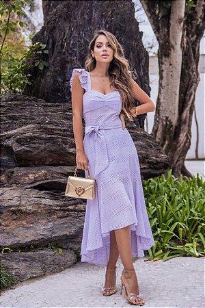 Vestido Kim Lilás