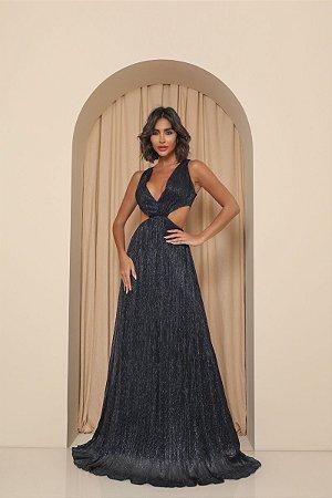 Vestido Liz Azul Marinho