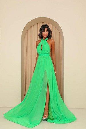 Vestido Mil Formas Verde