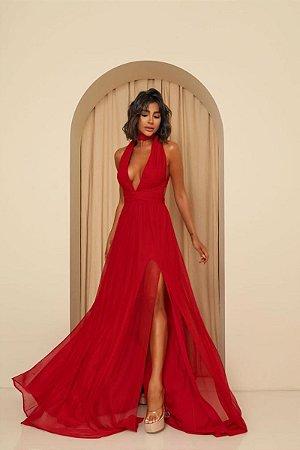 Vestido Mil Formas Vermelho