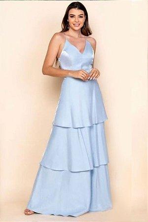 Vestido Cassandra Azul Seereniy