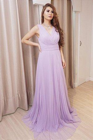 Vestido Marina Lilás