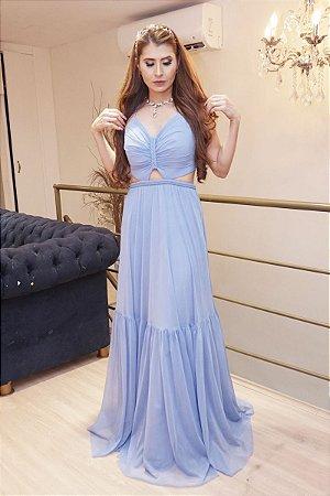 Vestido Kiara Azul Serenity