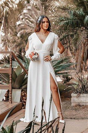 Vestido Loren Off White