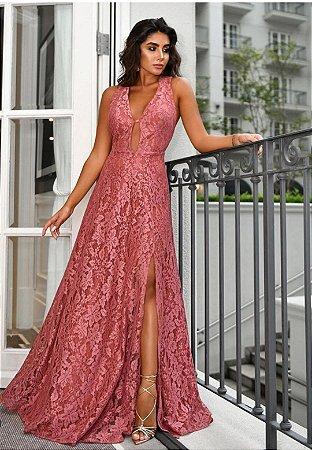 Vestido Júlia Rosa