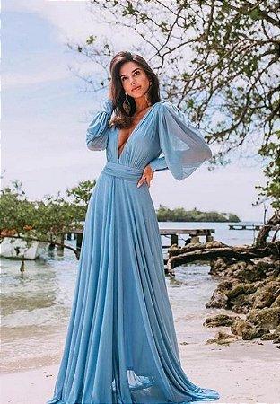Vestido Grace Azul Serenity