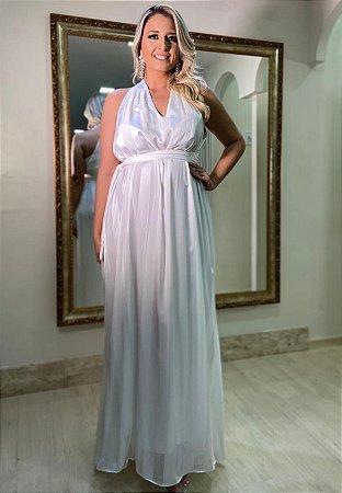 Vestido Tamanho Único Branco