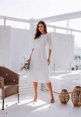 Vestido Yumi Off-White