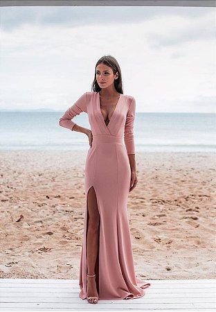 Vestido Elaine Rosa
