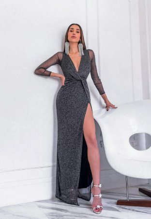Vestido Marcele Preto